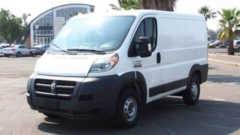 2016 RAM ProMaster Cargo for sale at Okaidi Auto Sales in Sacramento CA