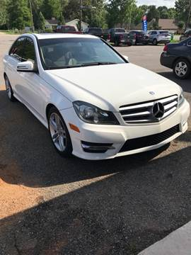2013 Mercedes-Benz C-Class for sale at Bay City Auto's in Mobile AL