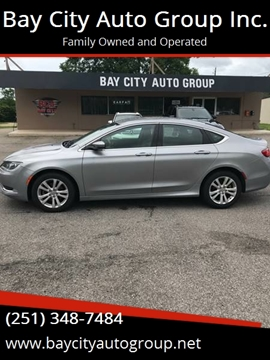 2016 Chrysler 200 for sale at Bay City Auto's in Mobile AL