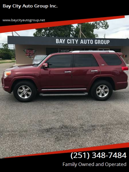 2010 Toyota 4Runner for sale at Bay City Auto's in Mobile AL
