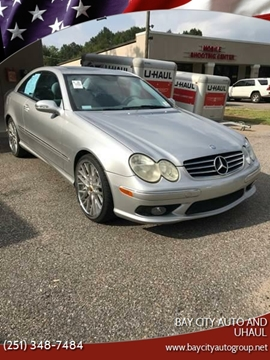 2005 Mercedes-Benz CLK for sale at Bay City Auto's in Mobile AL
