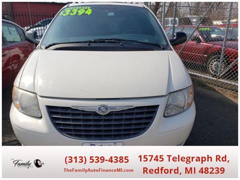 2003 Chrysler Voyager for sale in Redford, MI