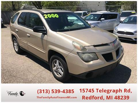 2005 Pontiac Aztek for sale in Redford, MI