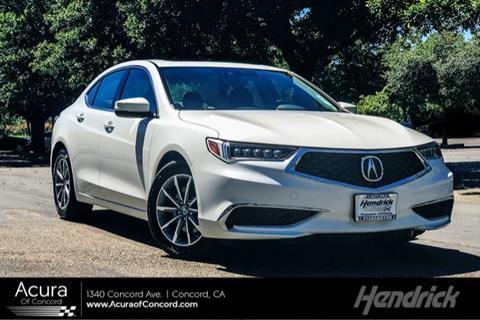 2018 Acura TLX for sale in Concord, CA