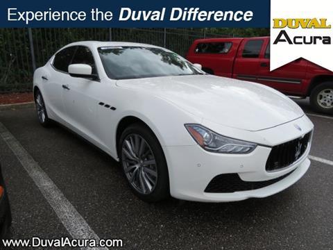 2015 Maserati Ghibli for sale in Jacksonville, FL