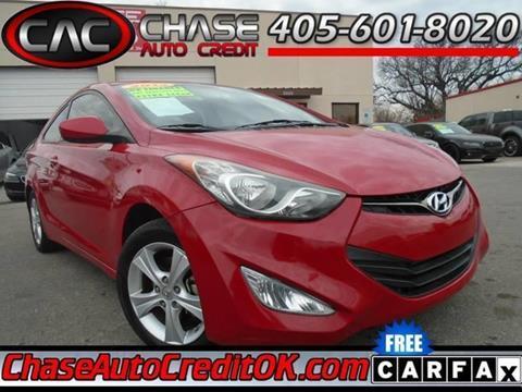 2013 Hyundai Elantra Coupe for sale in Oklahoma City, OK