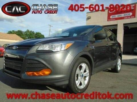 2015 Ford Escape S for sale at Chase Auto Credit in Oklahoma City OK
