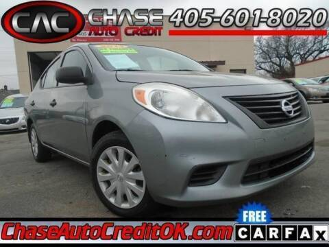 2013 Nissan Versa 1.6 S for sale at Chase Auto Credit in Oklahoma City OK