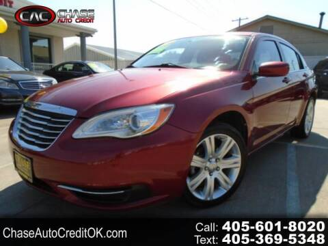 2013 Chrysler 200 for sale at Chase Auto Credit in Oklahoma City OK