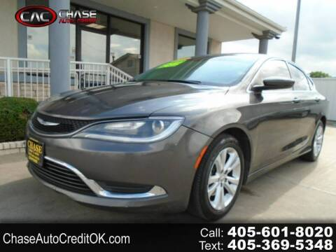2015 Chrysler 200 for sale at Chase Auto Credit in Oklahoma City OK
