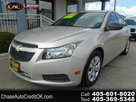 2013 Chevrolet Cruze for sale at Chase Auto Credit in Oklahoma City OK