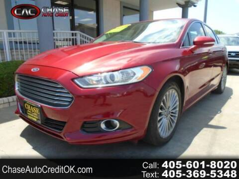 2014 Ford Fusion for sale at Chase Auto Credit in Oklahoma City OK