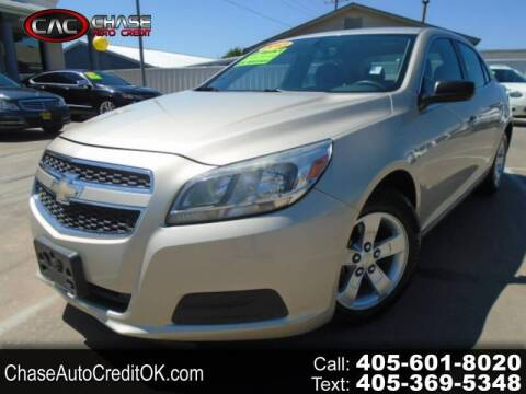 2013 Chevrolet Malibu for sale at Chase Auto Credit in Oklahoma City OK