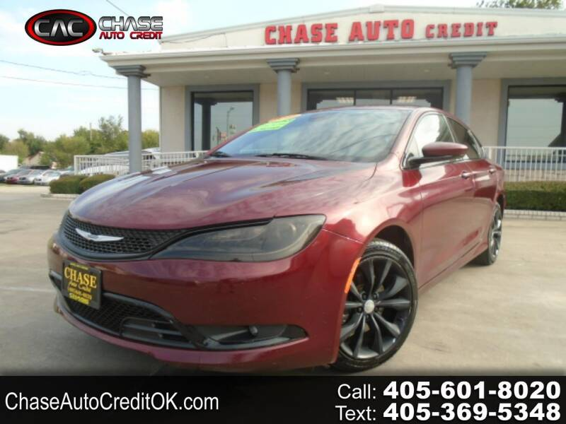 2016 Chrysler 200 for sale at Chase Auto Credit in Oklahoma City OK
