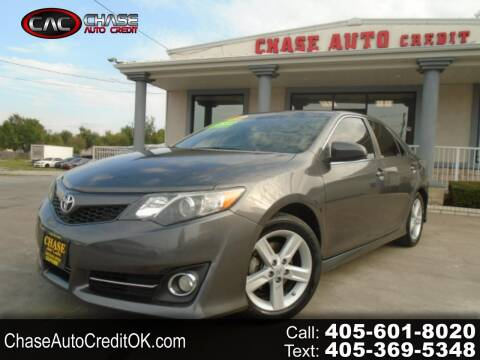 2013 Toyota Camry for sale at Chase Auto Credit in Oklahoma City OK