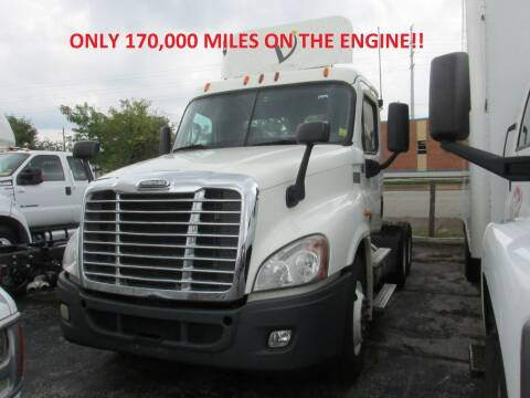 2014 Freightliner Cascadia for sale at BROADWAY FORD TRUCK SALES in Saint Louis MO