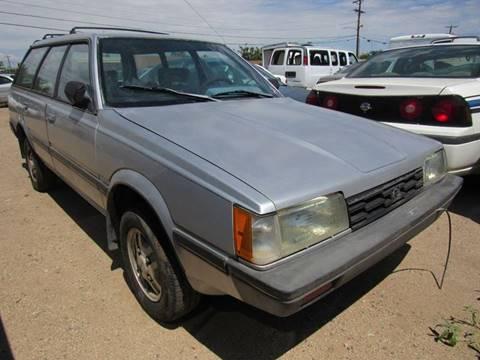 1986 Subaru GL for sale in Albuquerque, NM