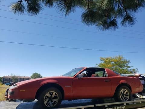 1985 Pontiac Firebird for sale in Albuquerque, NM