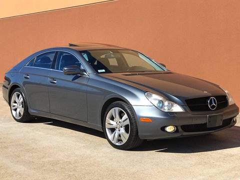 2009 Mercedes-Benz CLS for sale at Texas Prime Motors in Houston TX
