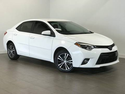2016 Toyota Corolla for sale at Texas Prime Motors in Houston TX
