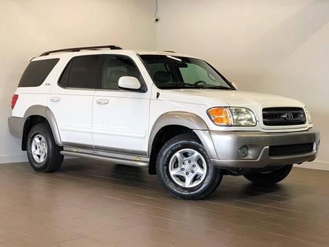 2002 Toyota Sequoia for sale at Texas Prime Motors in Houston TX