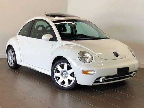 2002 Volkswagen New Beetle for sale at Texas Prime Motors in Houston TX
