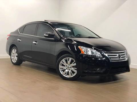 2013 Nissan Sentra for sale at Texas Prime Motors in Houston TX