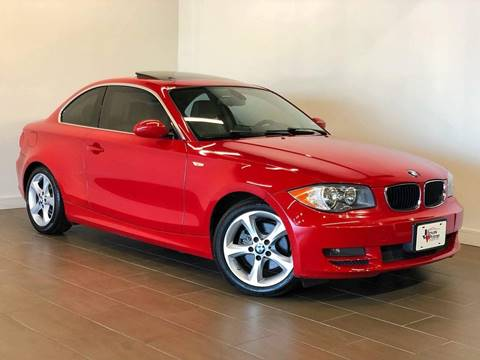 2009 BMW 1 Series for sale at Texas Prime Motors in Houston TX