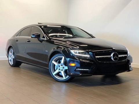 2012 Mercedes-Benz CLS for sale at Texas Prime Motors in Houston TX