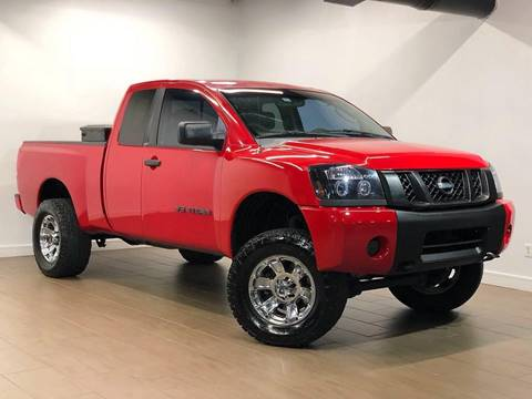 2008 Nissan Titan for sale at Texas Prime Motors in Houston TX
