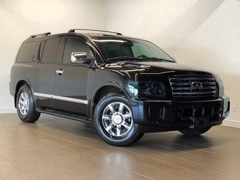 2006 Infiniti QX56 for sale at Texas Prime Motors in Houston TX