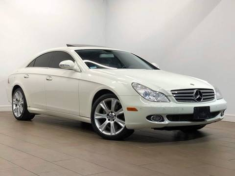 2008 Mercedes-Benz CLS for sale at Texas Prime Motors in Houston TX