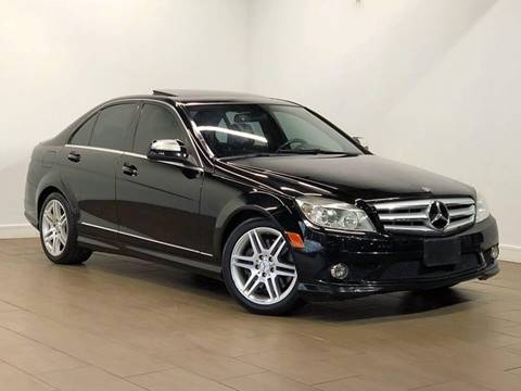 2008 Mercedes-Benz C-Class for sale at Texas Prime Motors in Houston TX