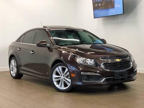 2015 Chevrolet Cruze for sale at Texas Prime Motors in Houston TX