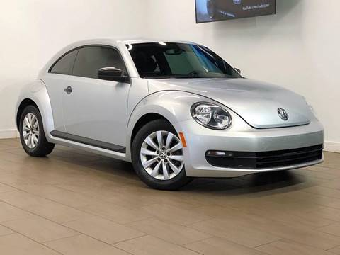 2013 Volkswagen Beetle for sale at Texas Prime Motors in Houston TX