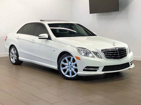 2012 Mercedes-Benz E-Class for sale at Texas Prime Motors in Houston TX