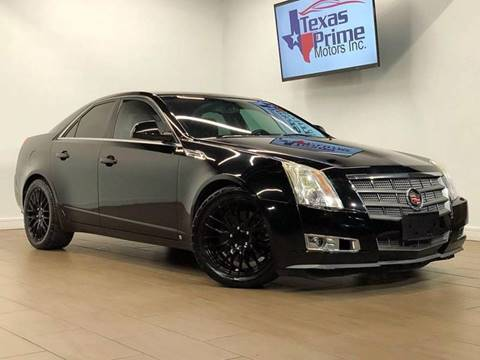 2008 Cadillac CTS for sale at Texas Prime Motors in Houston TX
