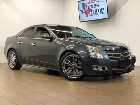 2010 Cadillac CTS for sale at Texas Prime Motors in Houston TX