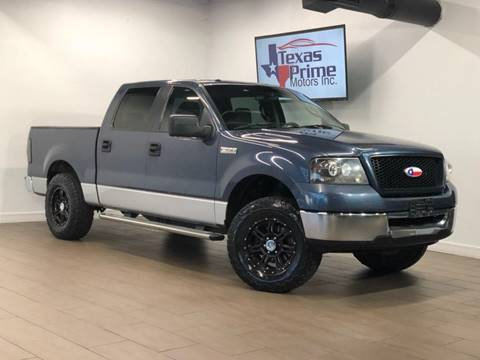 2006 Ford F-150 for sale at Texas Prime Motors in Houston TX