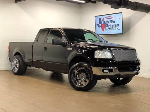 2004 Ford F-150 for sale at Texas Prime Motors in Houston TX