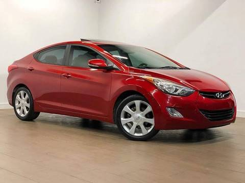 2011 Hyundai Elantra for sale at Texas Prime Motors in Houston TX