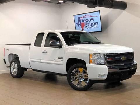 2011 Chevrolet Silverado 1500 for sale at Texas Prime Motors in Houston TX