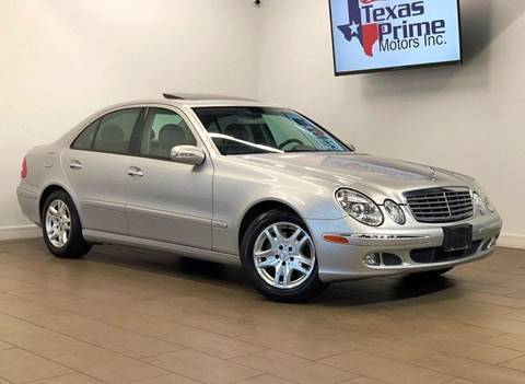 2006 Mercedes-Benz E-Class for sale at Texas Prime Motors in Houston TX