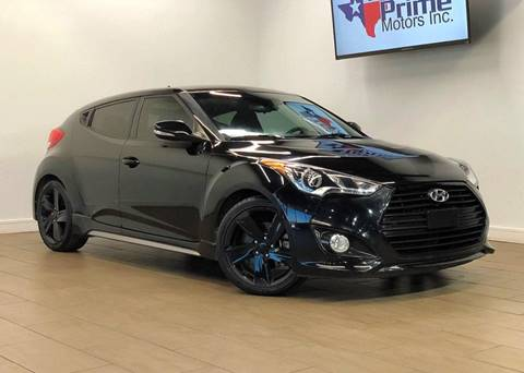 2014 Hyundai Veloster Turbo for sale at Texas Prime Motors in Houston TX