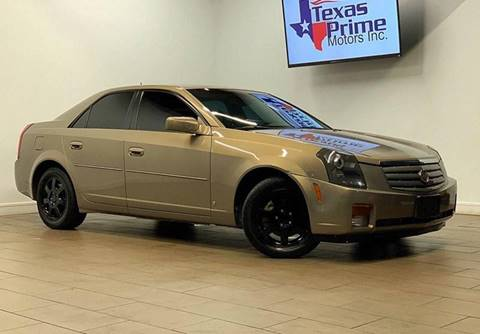 2006 Cadillac CTS for sale at Texas Prime Motors in Houston TX
