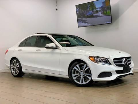 2015 Mercedes-Benz C-Class for sale at Texas Prime Motors in Houston TX