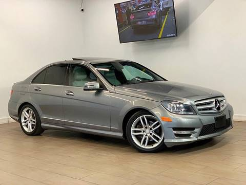 2013 Mercedes-Benz C-Class for sale at Texas Prime Motors in Houston TX