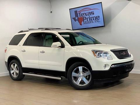 2011 GMC Acadia for sale at Texas Prime Motors in Houston TX
