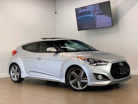2013 Hyundai Veloster Turbo for sale at Texas Prime Motors in Houston TX