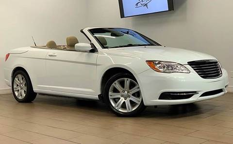 2013 Chrysler 200 Convertible for sale at Texas Prime Motors in Houston TX